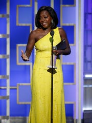 This image released by NBC shows Viola Davis with the