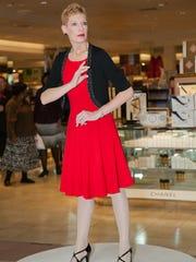 Greece native Carrie Schreiner is a mannequin model.
