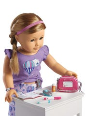 """TrulyMe"" dolls by American Girl can make use of a"