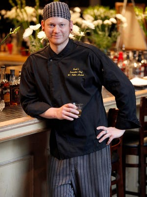 Chef Colter Hubsch at Buck's Restaurant and Bar in Old Louisville.