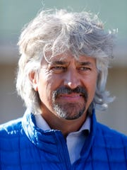 Steve Asmussen, trainer of Kentucky Derby hopefuls Hence and Local Hero. April 24, 2017