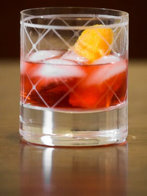 A Negroni, by Doug Petry, beverage director at Rye on Market.