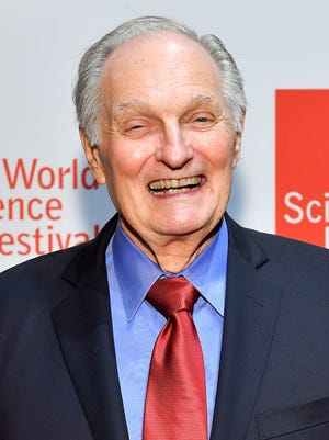 Alan Alda attends the World Science Festival 2017 Gala at Jazz at Lincoln Center on May 30, 2017, in New York City.