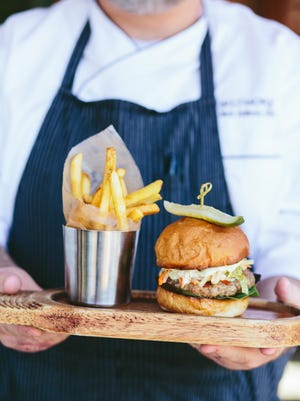 Try the Biltmore Estate's Blended Burger at Cedric's Tavern through July 31.