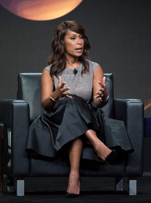 ABC Entertainment president Channing Dungey speaks to the Television Critics Association Aug. 6 in Beverly Hills.