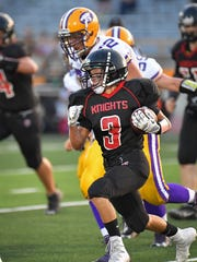 All-conference receiver Doug Ryan will look to make some plays when Lourdes Academy takes on Wild Rose.