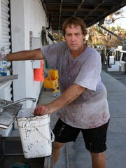 Fifth generation fiisherman Douglas Doxsee says stone crab season will go on as scheduled. The fishing community of Goodland on Marco Island was hardhit by Hurricane Irma, with storm surge in addition battering winds.