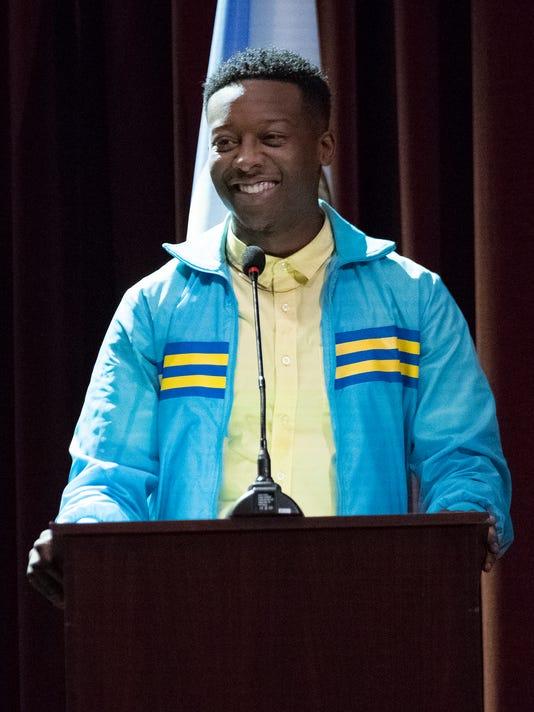 The Mayor BRANDON MICHEAL HALL
