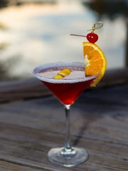 Warhawk Martini at Waterfront Grill