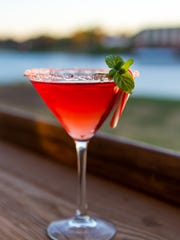 Candy Cane Martini at Warehouse No. 1 Restaurant