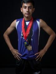 Isaiah Gonzalez of Shadow Hills High School.