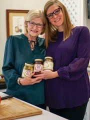 Abigail Ricks and her mother, Gaye Spaht, share insight on their pickling products they make and sell.