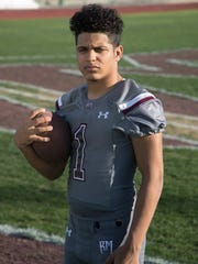 Rancho Mirage senior Marques Prior is a member of the 2017 First Team All-Desert Sun football team.