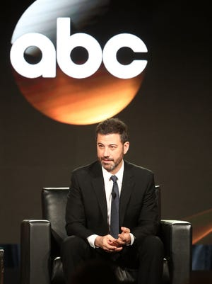 Jimmy Kimmel talks about the Oscars (and Oprah) at the Television Critics Association.