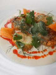 Scallops in Coconut Broth at Jack Fry's in Louisville,