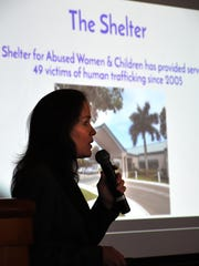 Shelter for Abused Women & Children CEO Linda Oberhaus talks about help they offer to victims of trafficking.