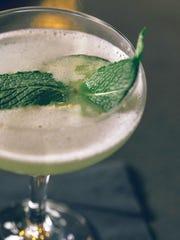 Blue Clover Cucumber gin cooler.