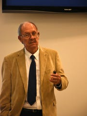 Dr. Harold Wanless explains the implications of warming