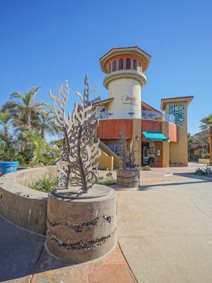 The Ventura Harbor Village revitalization and beautification project features a Channel Islands Plaza and a Kelp Corridor as the first phase of the Village Master Plan intended to be the 'front door' of the bustling Village.