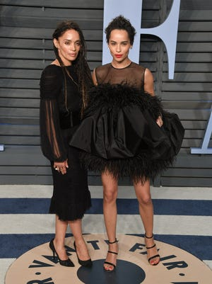 "Lisa Bonet says she enjoys a warm relationship with ex-husband Lenny Kravitz, the father of her actress daughter Zoë but not TV father Bill Cosby. She says he always exuded a ""sinister"" energy."