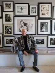 Michael Childers at his home in Rancho Mirage, California