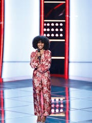 "Newark's Kelsea Johnson has advanced past the ""blind audition"" round of NBC reality competition program ""The Voice."""
