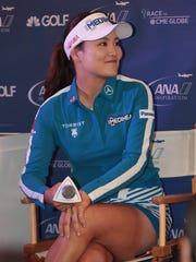 Seo Yeon Ryu attends ANA Inspiration media day at Mission