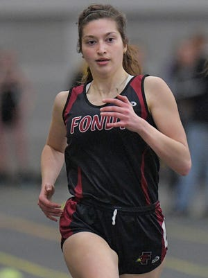 Nicole Lord has qualified for the WIAA State Track and Field meet in each of her first three years and competed in three individual events at La Crosse last spring.