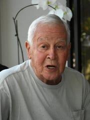 Naples resident David Teetor, 84, attended school on
