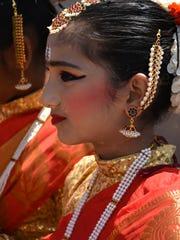 File: Nandana Asok, 14, of the Raaga group.