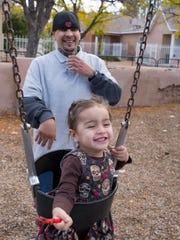 Santiago Turrieta and daughter Mya Angel Turrieta.