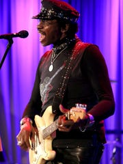 "Willie Chambers performs at ""An Evening with the Chambers Brothers"" at The Grammy Museum in Los Angeles in 2016. The group will perform May 27 at the Simi Valley Cajun & Blues Music Festival."