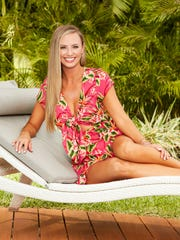 "Annaliese Puccini from ""The Bachelor"" season 22, starring"