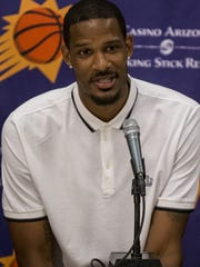 Veteran Trevor Ariza looks to be a leader on a young Suns team.