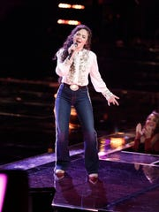 "Farmington's Chevel Shepherd sings ""Little White Church"" on last Monday's episode of ""The Voice."""