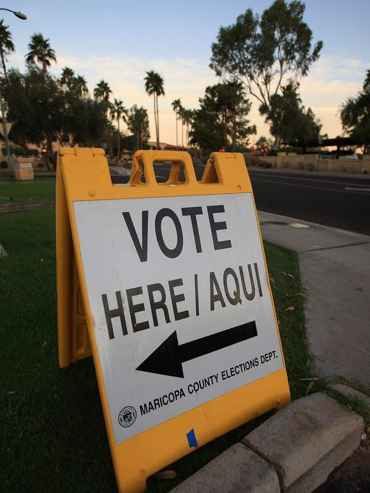 Americans Go To The Polls To Elect The Next U.S. President