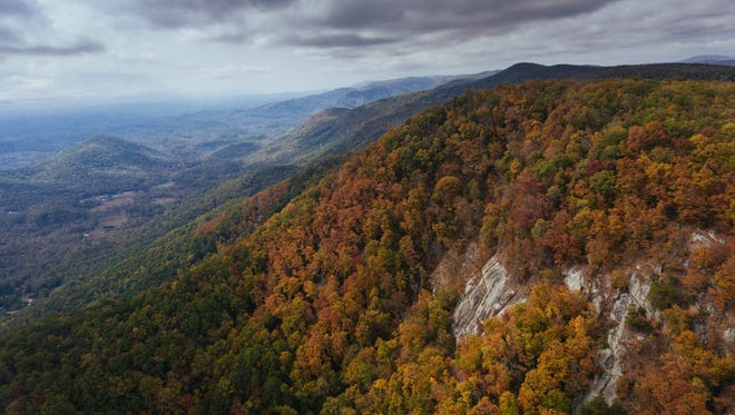 Gap Creek, along the Mountain Bridge Wilderness Area, has been purchased by The Nature Conservancy and benefactors and will preserve 955 acres to add to Jones Gap State Park in northern Greenville County.