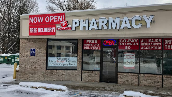 The newly opened Luxcare Pharmacy can be found on Capital Avenue Southwest.