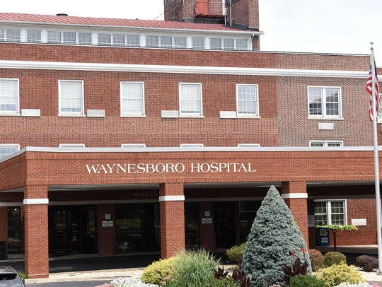 Waynesboro Hospital is seen in this photograph taken