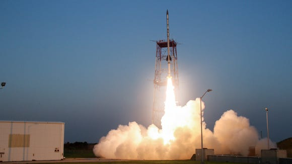 NASA successfully launched a NASA Black Brant IX suborbital sounding rocket carrying two space technology demonstrations on July 7, 2015.
