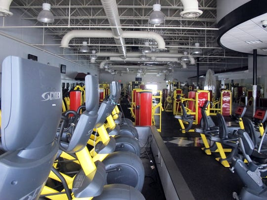 Gym equipment remains in place at Retro Fitness, which permanently closed last week in Kings Lake Square shopping center on Davis Boulevard in East Naples.