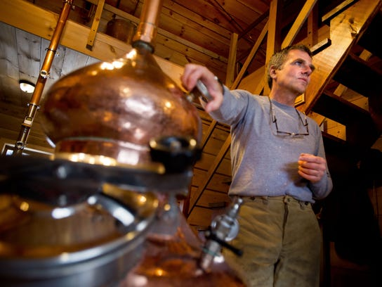Distiller David Howe left his job in finance to buy
