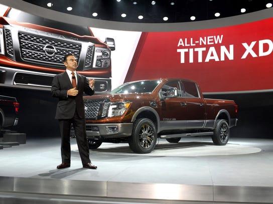 All-New 2015 Nissan Titan World Debut