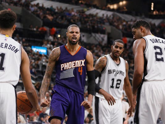 NBA: Preseason-Phoenix Suns at San Antonio Spurs