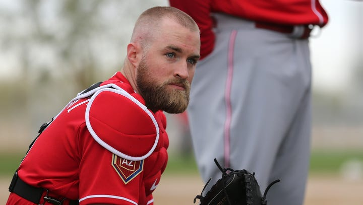 Tucker Barnhart: New MLB mound visit rule 'messes with the game'