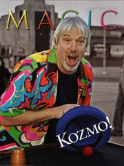 The cover of the February 2010 issue of  Magic Magazine,