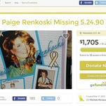 The family of Paige Renkoski created a Go Fund Me page to raise donations for Livingston County's Cold Case Team.