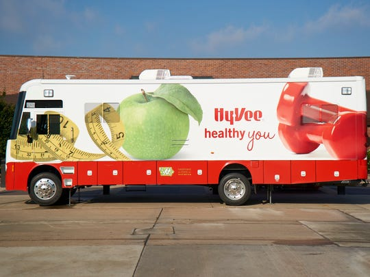 Hy-Vee dietitians will provide biometric screenings from Healthy You mobile units at stores in February.