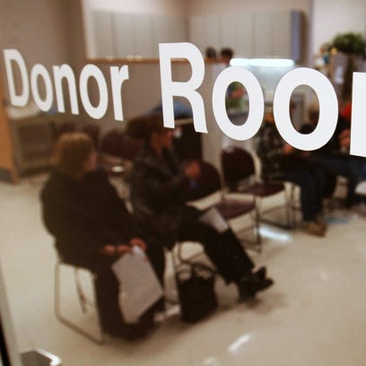 Blood donors helped boost CBCO's  blood levels.