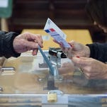 Voting in France on Dec. 13, 2015.
